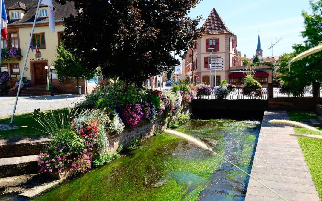 Niederbronn-les-Bains der älteste Badeort im Elsass
