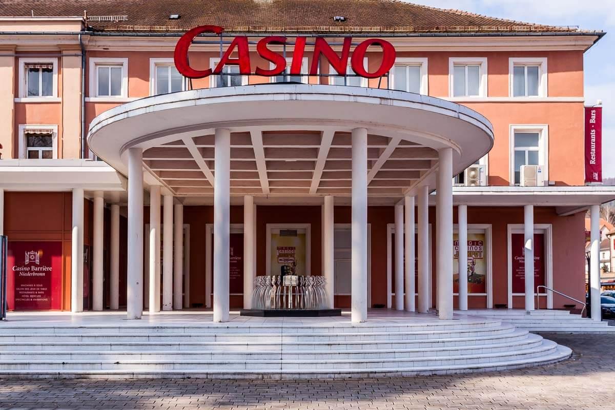 Casino mit kleinem Restaurant