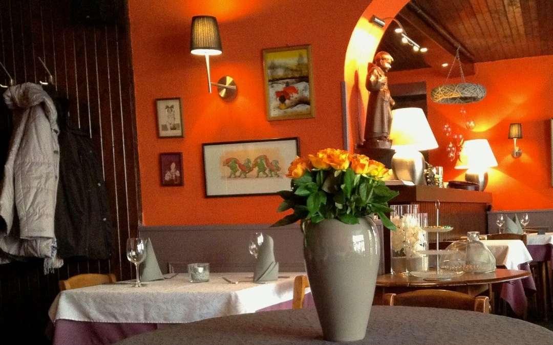 Das kleine Restaurant Au Petit Dominicain in Wissembourg