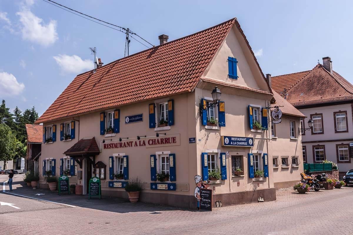 Restaurant a la Charrue in Lauterbourg