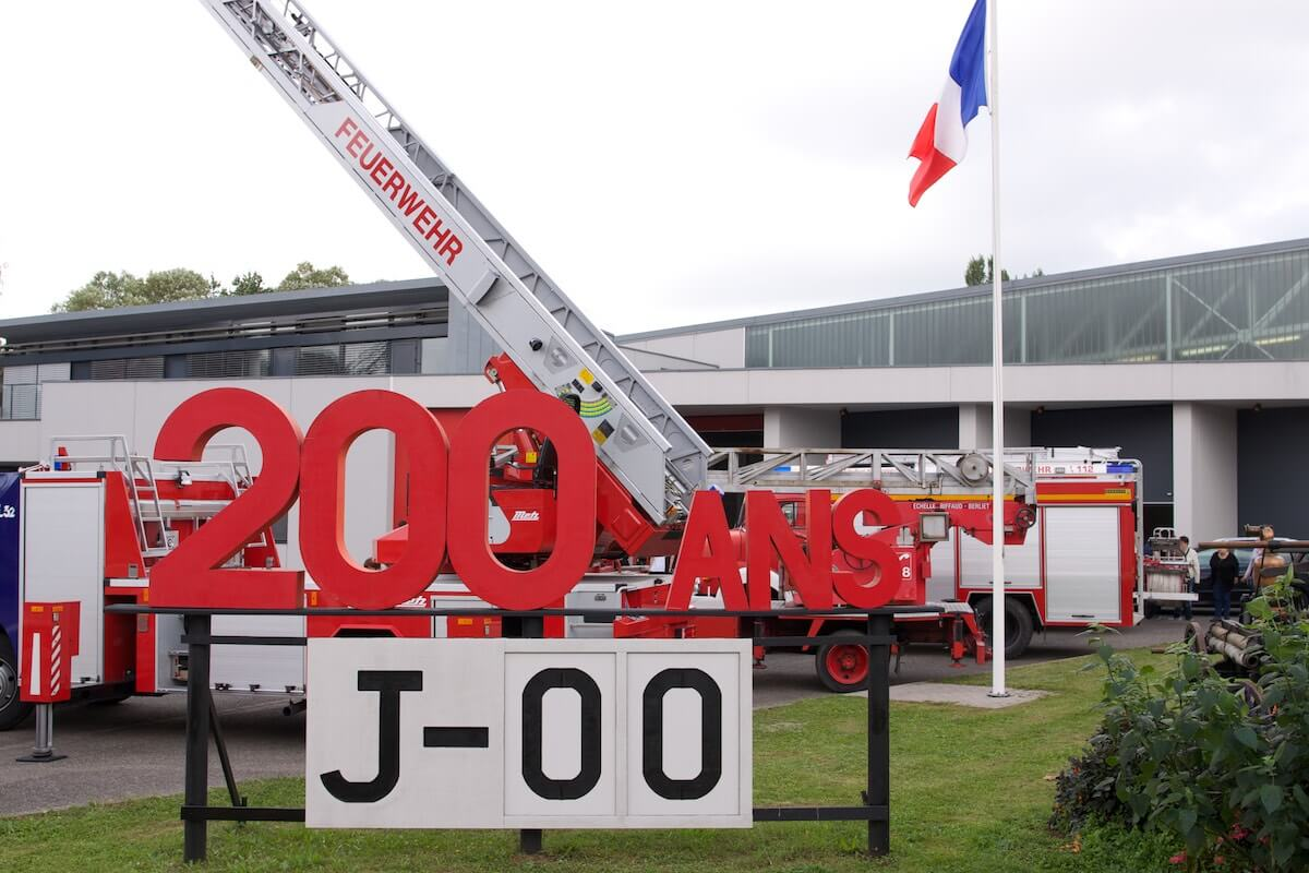 200 Jahre Feuerwehr Wissembourg