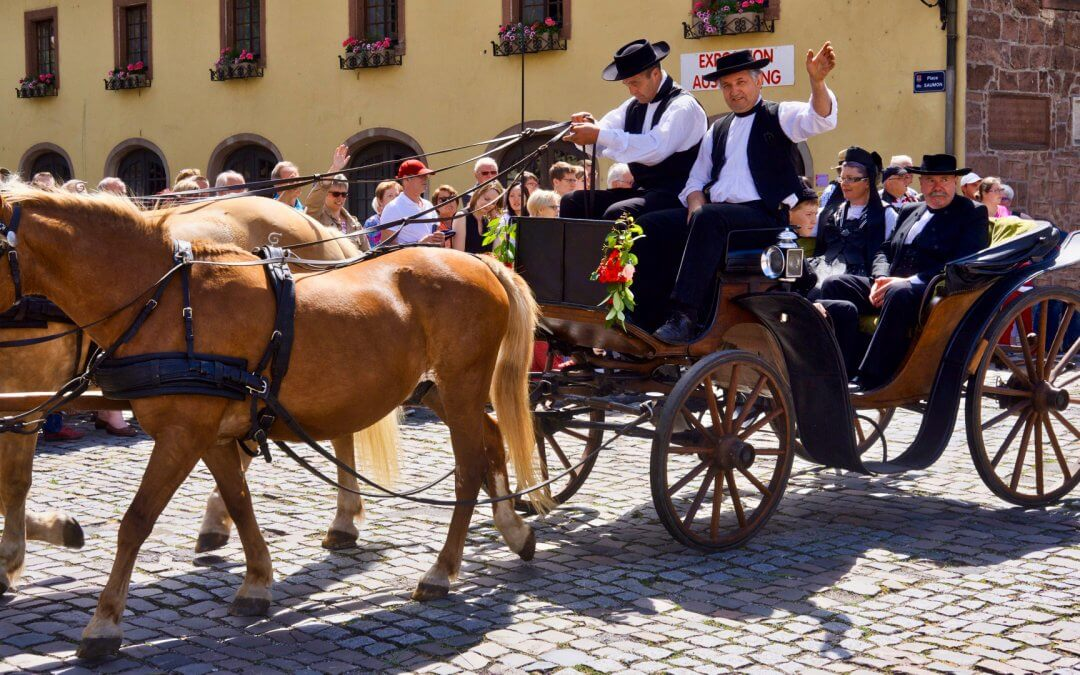 Traditionelles Pfingstfest in Wissembourg