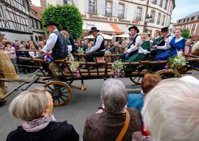 Trachtenumzug in Wissembourg