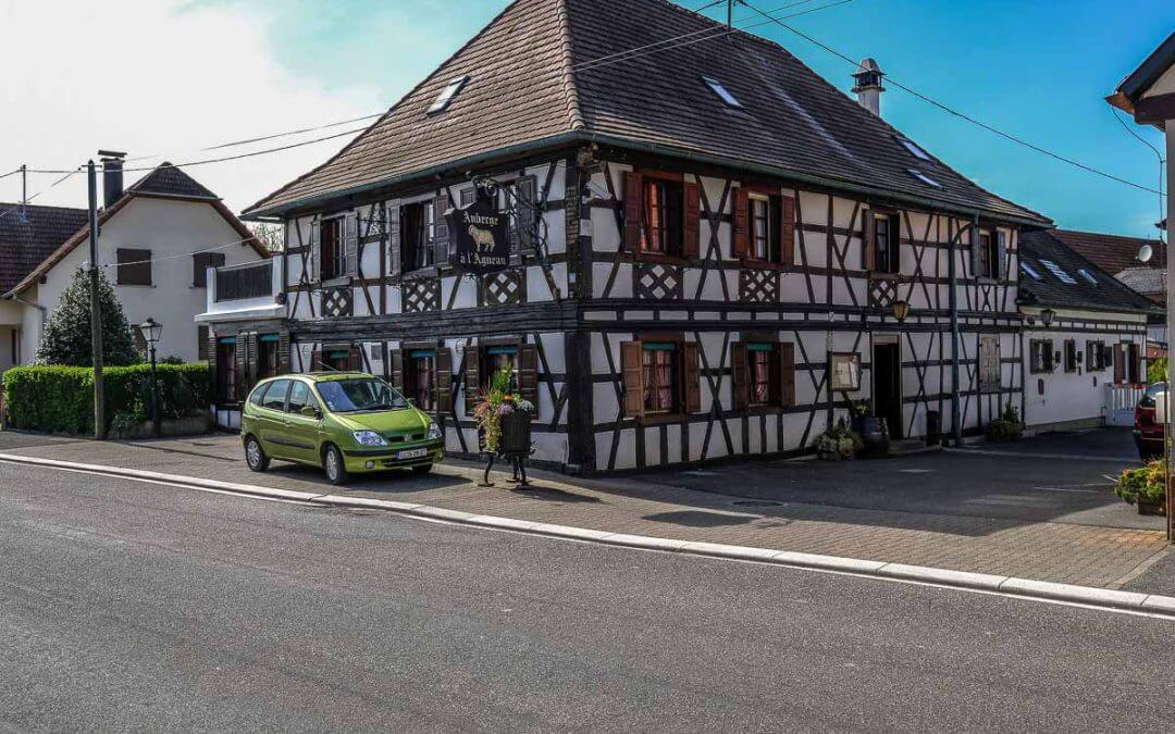 Auberge Agneau / Gasthaus zum Lamm in Roppenheim