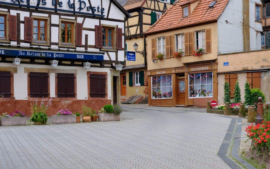 Besuchen Sie Bouxwiller im Elsass und die schmucken Fachwerkhäuser