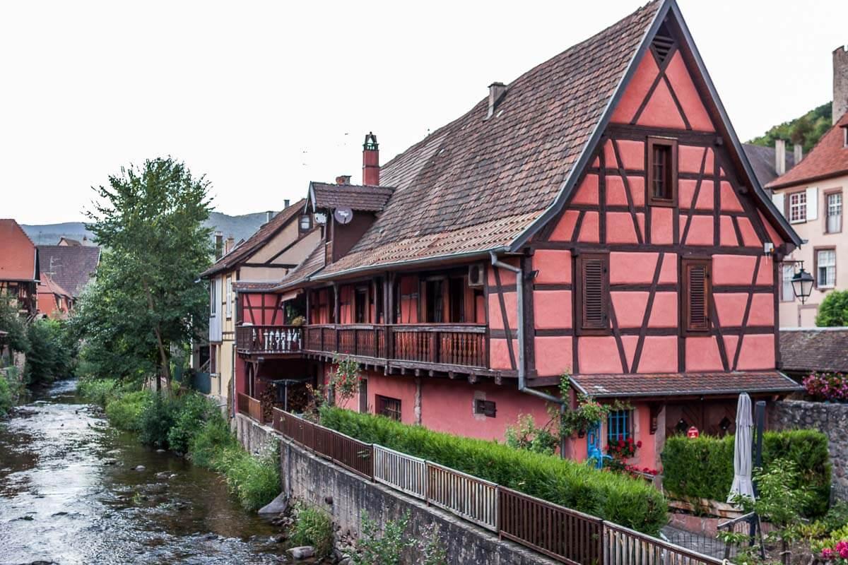Romantische Fachwerkhäuser im Ortskern