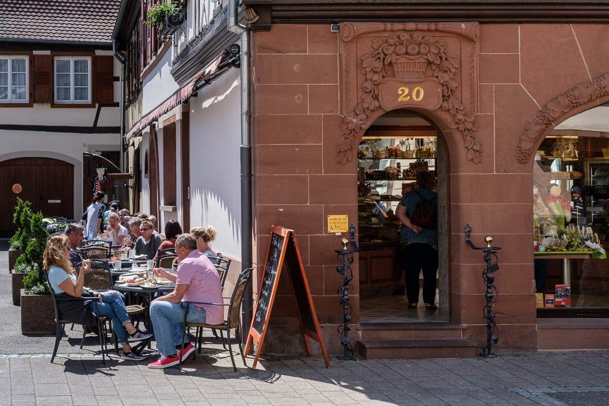 Café Au Petit Kougelhopf in Wissembourg