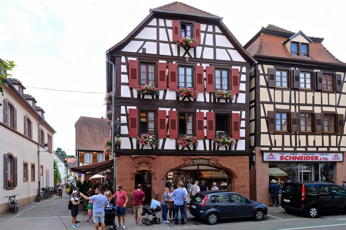 Café Au Petit Kougelhopf – ein süßer Ort in Wissembourg