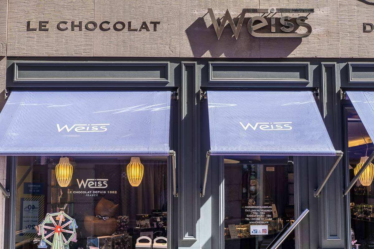 Chocolat Weiss Straßburg