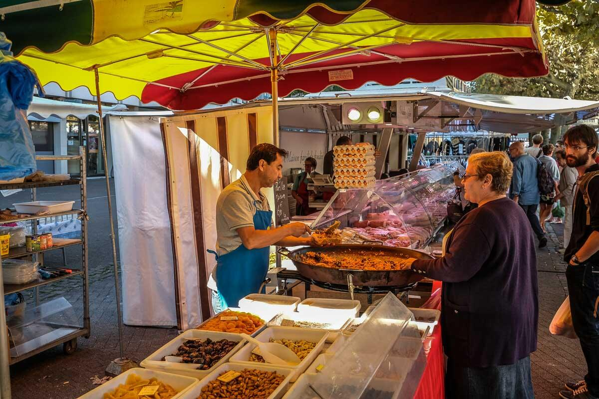 Markt in Straßburg