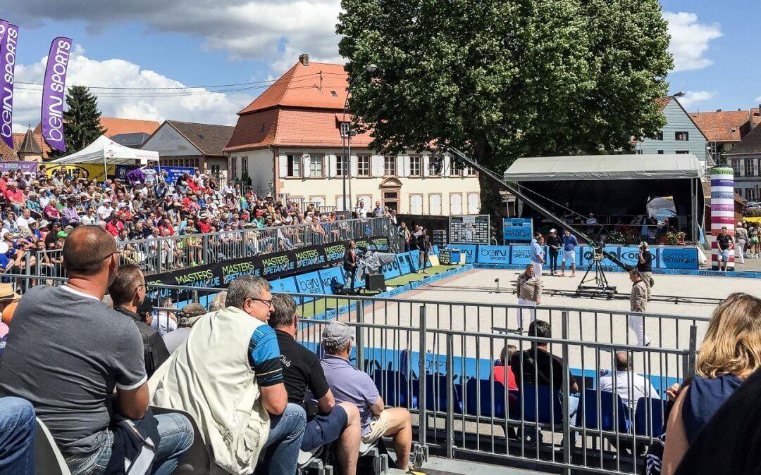Boule Meisterschaften – Masters de Petanque in Wissembourg