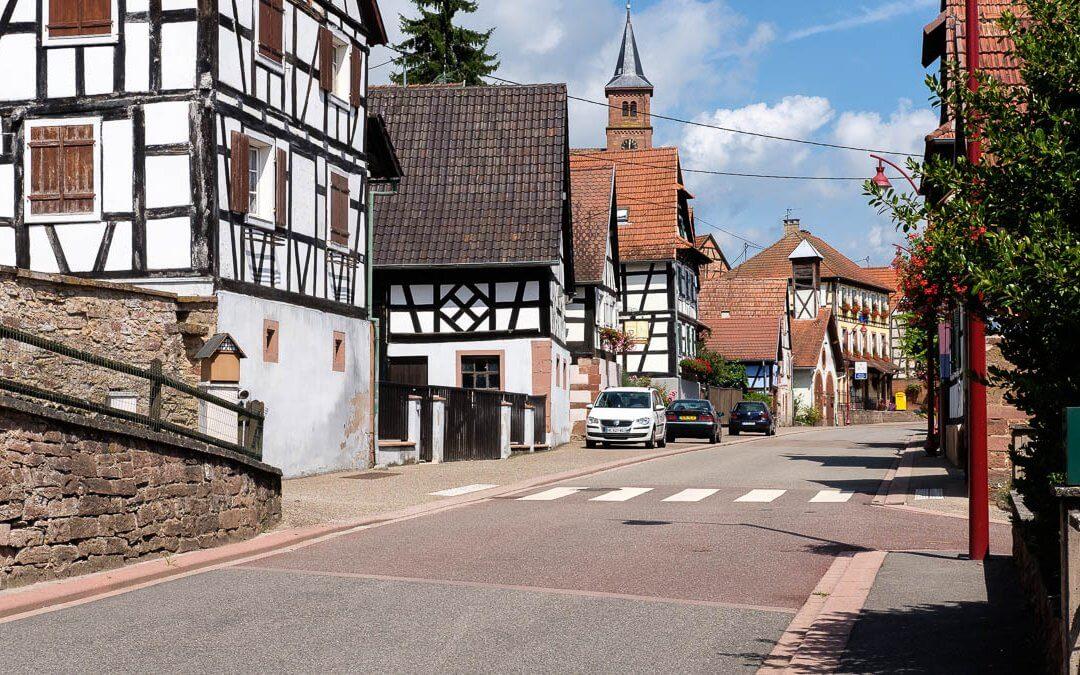 Langensoultzbach im Elsass – Bas-Rhin