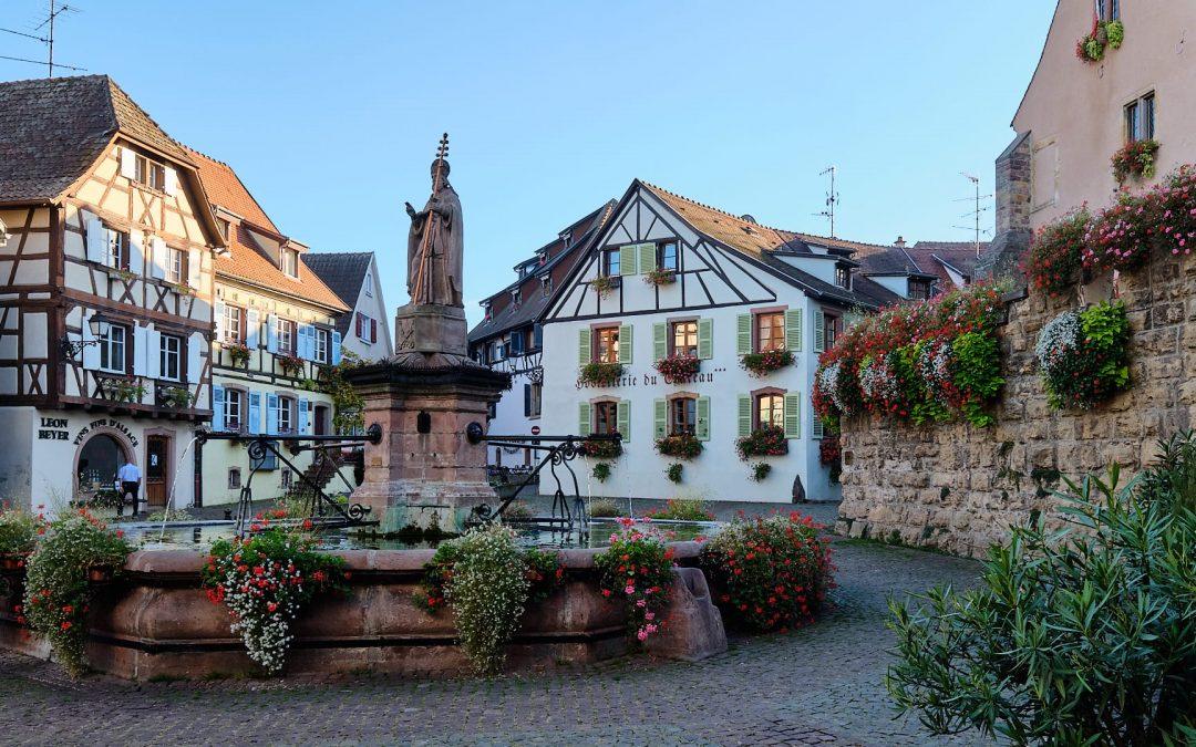 Eguisheim – einer der schönsten Weinorte im Elsass