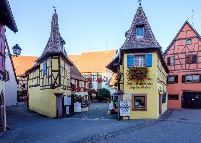 Weingut in Eguisheim