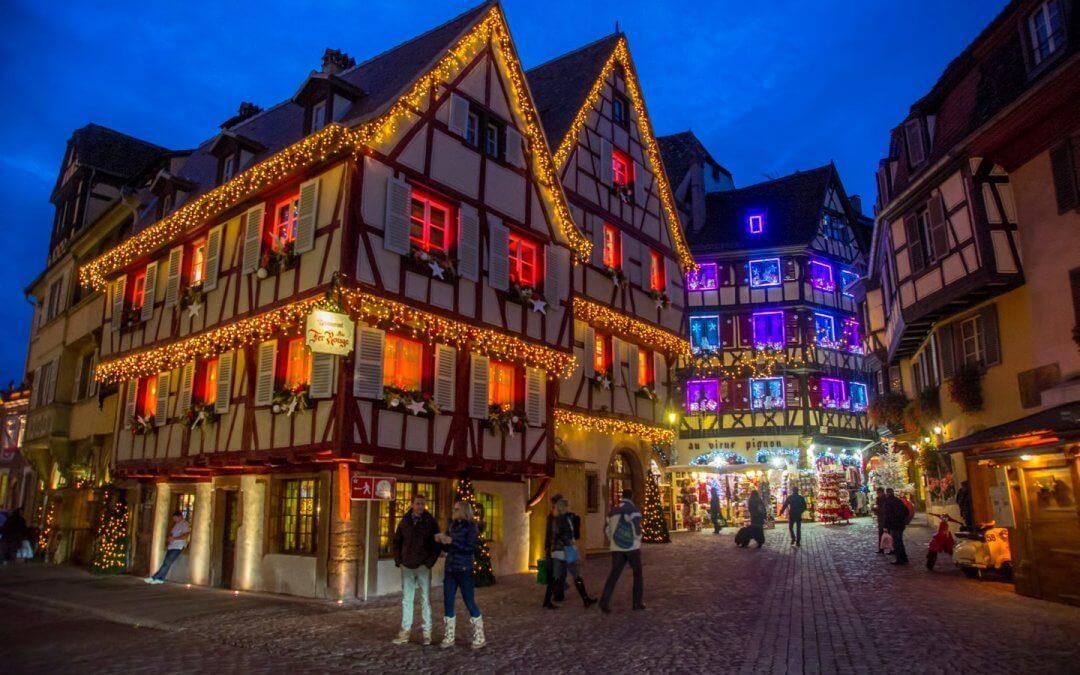 Der Weihnachtsmarkt Colmar gehört zu den schönsten im Elsass