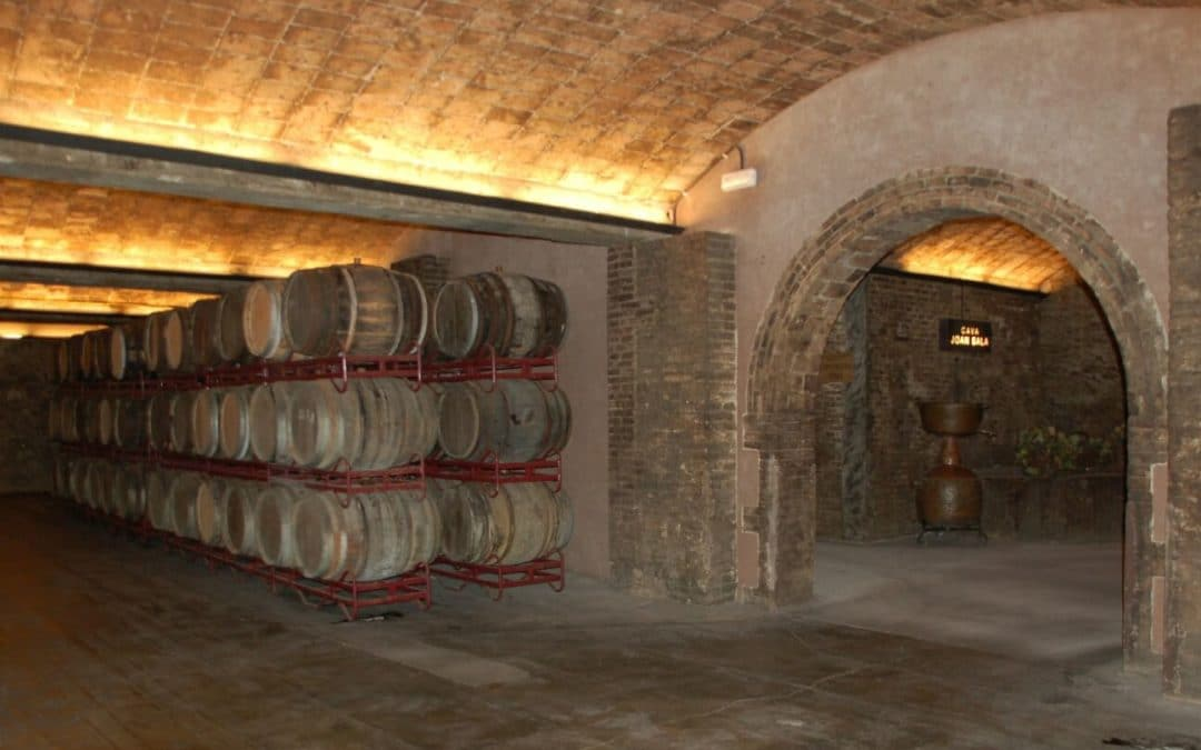 Historischer Weinkeller im Straßburger Krankenhaus