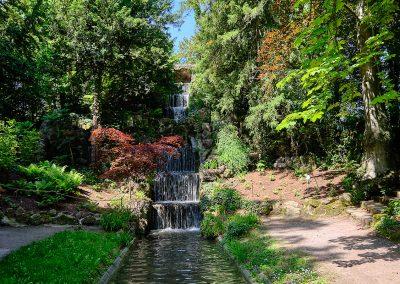 Orangerie Park Wasserfall