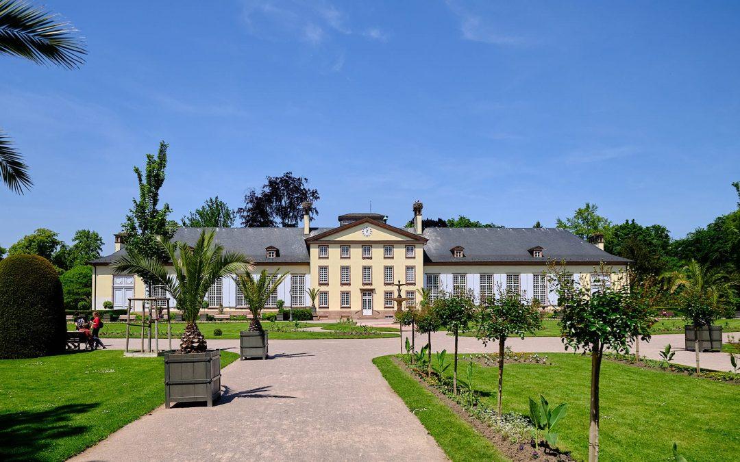 Orangerie Park Straßburg. Straßburgs Parkanlage schlechthin.