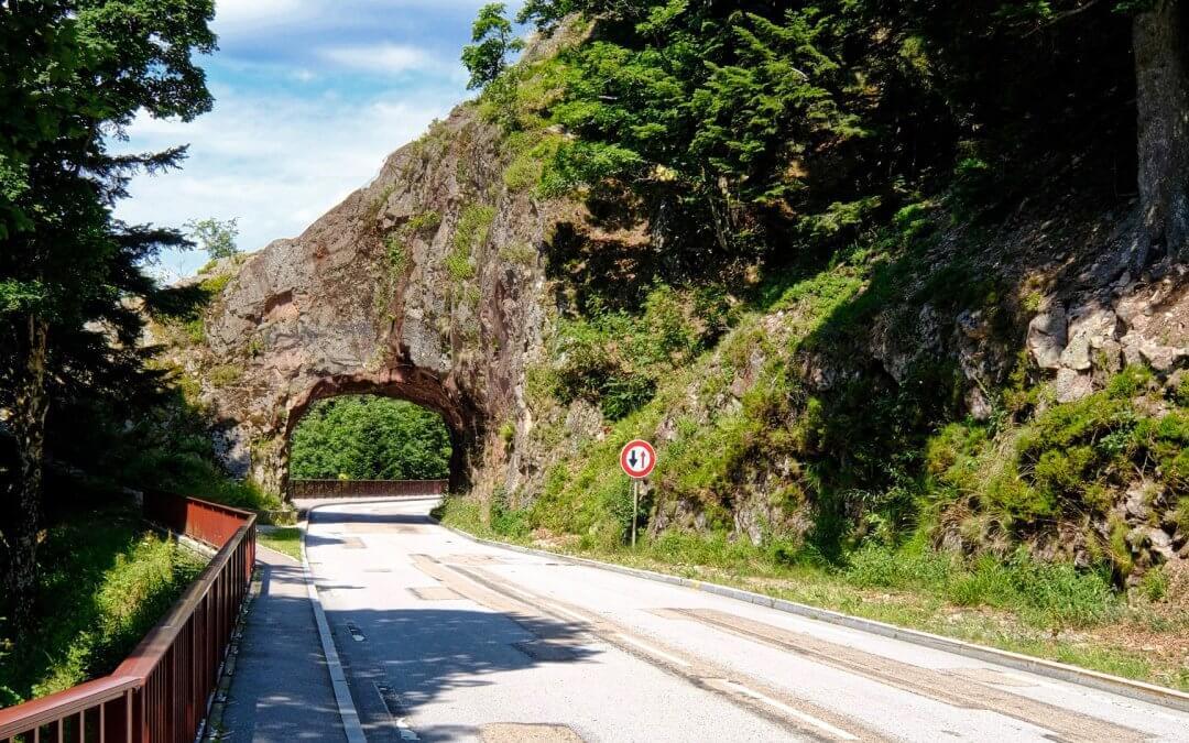 Vogesenkammstrasse – Entlang der Route des Crêtes – Elsass