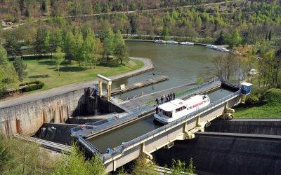 Schiffshebewerk von Saint-Louis / Arzviller (Schrägaufzug)