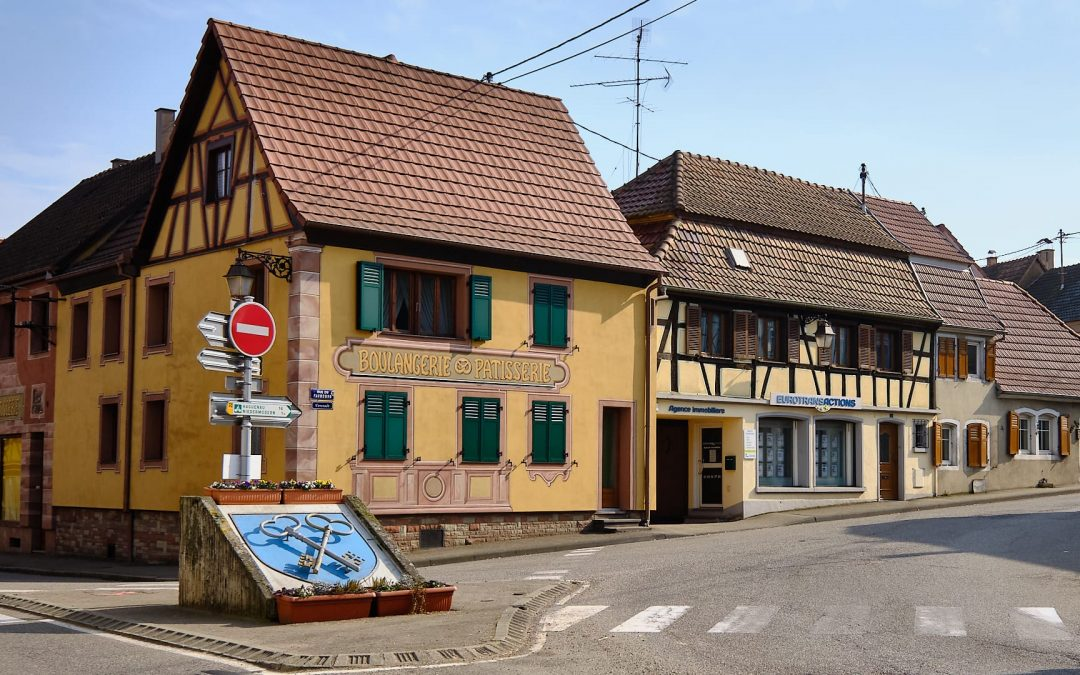 Pfaffenhoffen – ein kleiner Ort im Elsass im Département Bas-Rhin