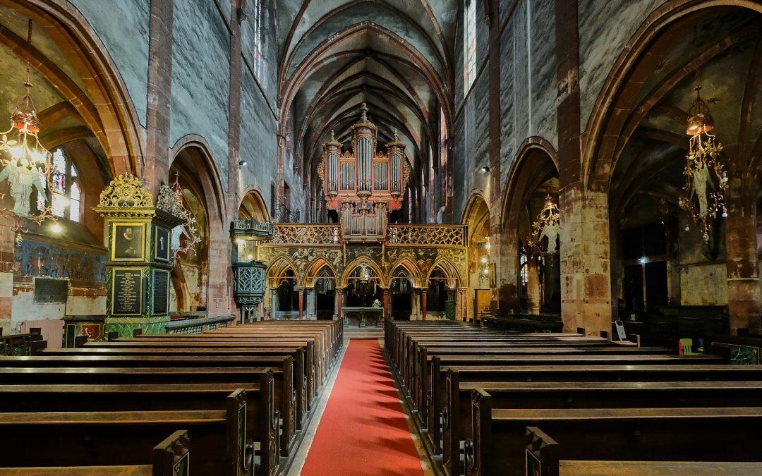 Saint-Pierre-le-Jeune – Gotische Kirche in Straßburg