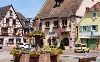 Chatenois | Kleiner Ort an der elsässischen Weinstraße