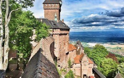 Hohkönigsburg – Château du Haut Koenigsbourg – Orschwiller Elsass