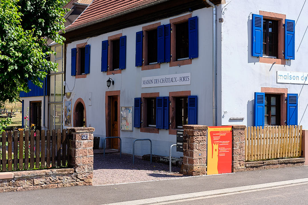 Maison des châteaux forts in Obersteinbach