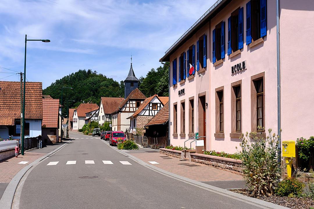 Rathaus Obersteinbach Elsass