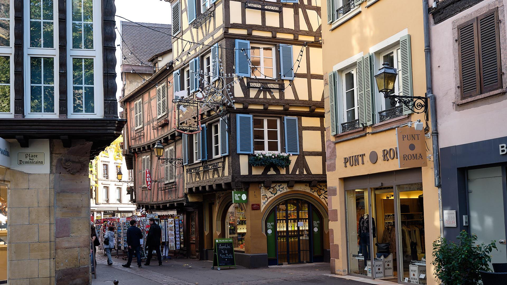 Geführter Rundgang durch das alte Colmar